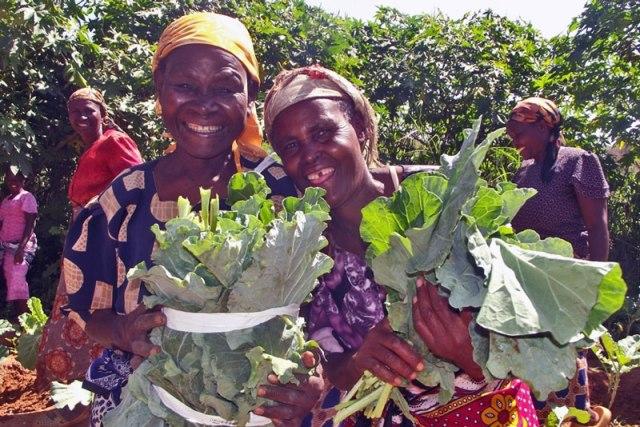 women-farming-sand-dam